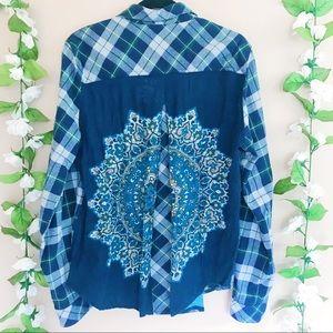 Tolani Patchwork Flannel